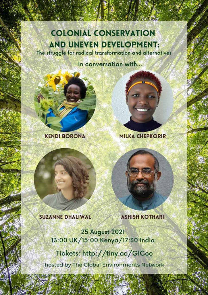 GEN In Conservation event, Colonial Conservation and Uneven Development
